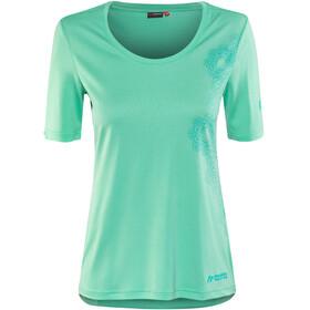 Maier Sports Irmi Bluzka z krótkim rękawem Kobiety zielony